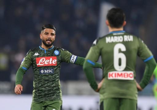 انتر يسجل أربعة أهداف ونابولي يضرب موعدا مع لاتسيو في كأس إيطاليا