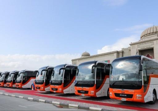 إيقاف النقل بين مدن الشارقة وإغلاق محطة الجبيل للحافلات