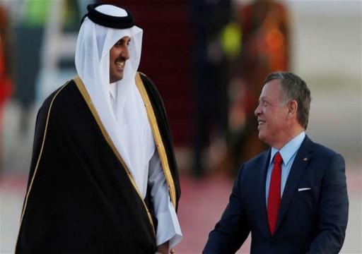 أمير قطر يتسلم أوراق اعتماد سفير الأردن بعد عامين من الأزمة