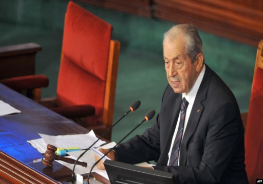 الناصر رئيسا مؤقتا لتونس بعد وفاة السبسي