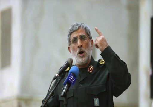 """قائد فيلق القدس يزور """"البوكمال"""" أكبر مقرات القوات الإيرانية في سوريا"""