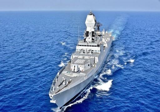 الهند ترسل سفينتين حربيتين إلى الخليج عقب تصاعد التوتر بالمنطقة