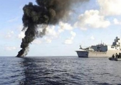 التحالف يعلن تدمير زورقين حوثيين يحملان متفجرات قرب ميناء الصليف