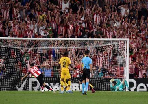 برشلونة يخسر في بيلباو بهدف أدوريز الرائع