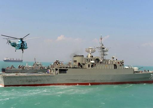 إيران ترسل بارجة إلى خليج عدن