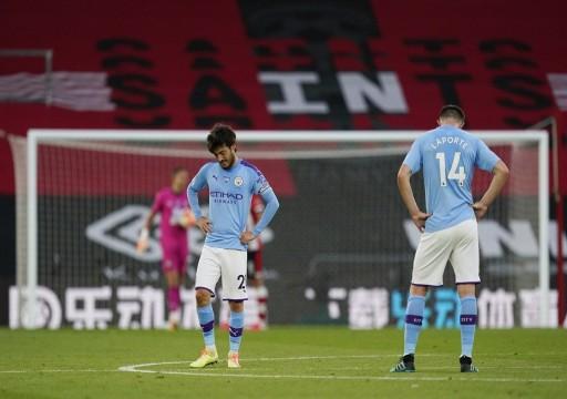 خسارة مفاجئة لمانشستر سيتي أمام ساوثهامبتون في الدوري الإنجليزي