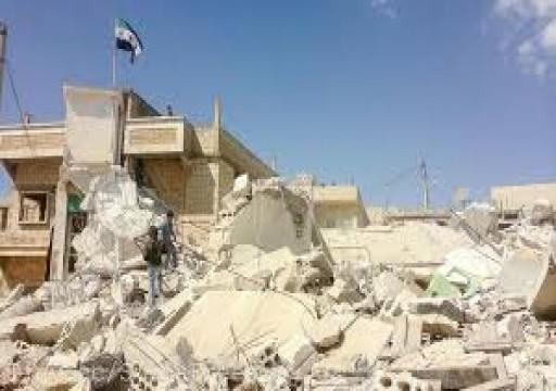 المعارضة السورية تستأنف قصف سراقب وطريق إم5 السريع