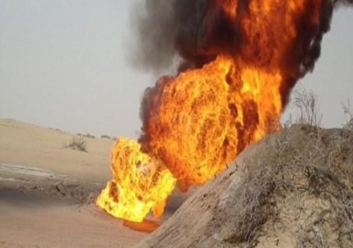قوات موالية للإمارات تمنع إصلاح أنبوب نفطي تعرض للتفجير شرقي اليمن