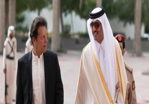 بدعوة من عمران خان.. أمير قطر يزور باكستان السبت