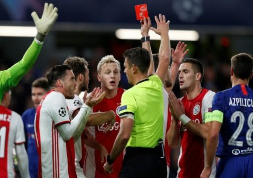 تعادل مثير بين تشلسي وأياكس في دوري أبطال أوروبا