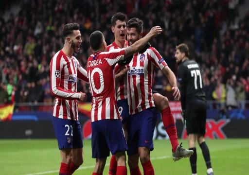 أتلتيكو مدريد آخر المتأهلين لثمن نهائي أبطال أوروبا