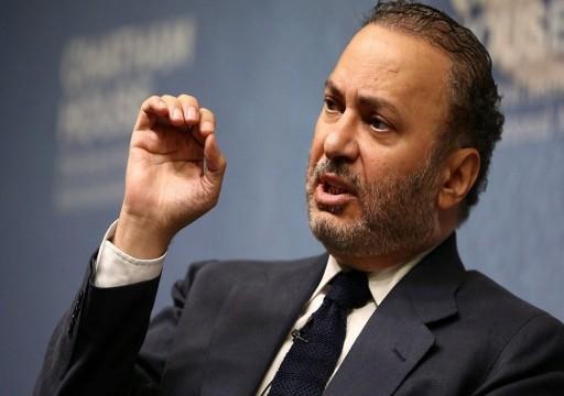 عقب قرار ترامب بشأن الجولان.. قرقاش يزعم ضرورة انفتاح العرب على إسرائيل