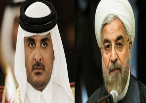 اتصال هاتفي بين أمير قطر وروحاني