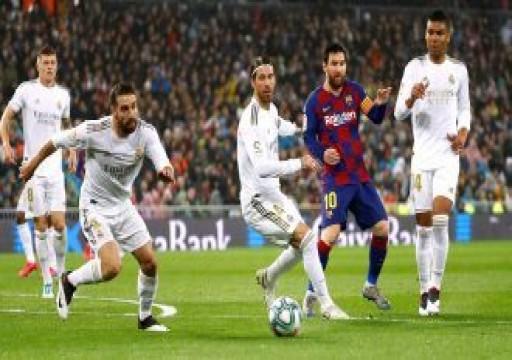 غضب داخل نادي ريال مدريد من أفضلية برشلونة في جدول الدوري الإسباني