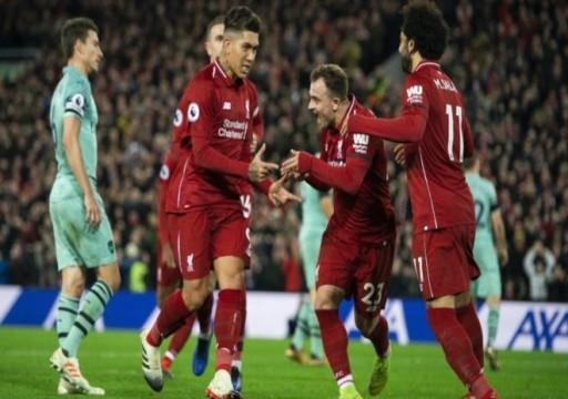 ليفربول ونابولي يتأهلان لثمن نهائي أبطال أوروبا