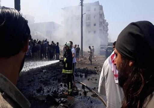 قتلى وجرحى بتفجير سيارة مفخخة في عفرين السورية