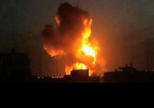 التحالف بقيادة السعودية يهاجم مواقع عسكرية للحوثيين في صنعاء