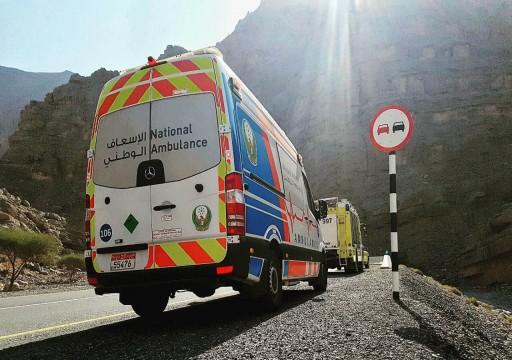 إصابة 5 أشخاص بحادث تصادم مركبتين في جبل جيس