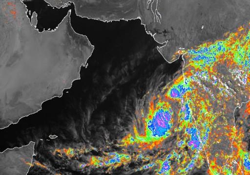 الأرصاد: لا تأثير مباشر على الدولة للحالة المدارية في بحر العرب