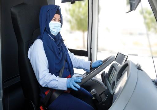 «طرق دبي» تُوظّف سائقات للحافلات العامة