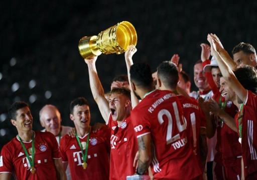 بايرن ميونيخ يتوّج بلقب كأس ألمانيا للمرة 20 في تاريخه