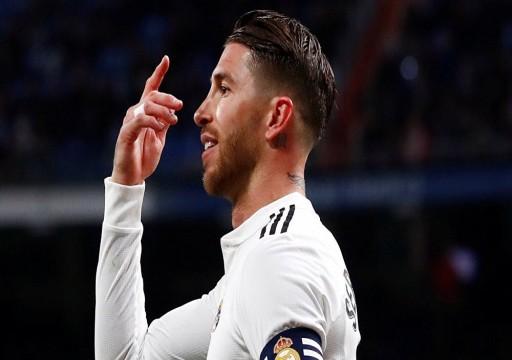 راموس يغيب عن ريال مدريد 3 أسابيع بسبب الإصابة