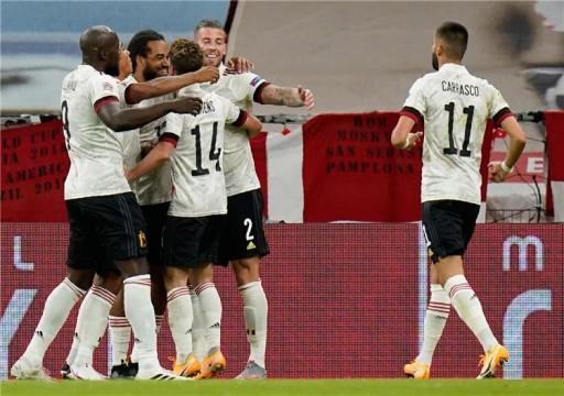 بلجيكا تفوز على الدنمارك بثنائية في دوري الأمم الأوروبية