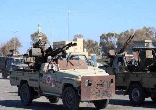 قوات الحكومة الليبية تبدأ عملية تحرير قاعدة الوطية الجوية غربي طرابلس