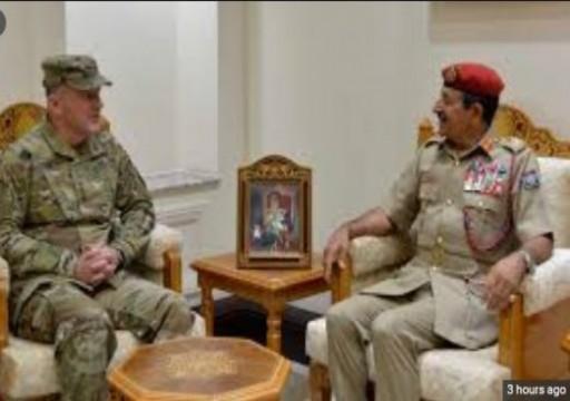 سلطنة عُمان وأمريكا تبحثان تعزيز التعاون العسكري