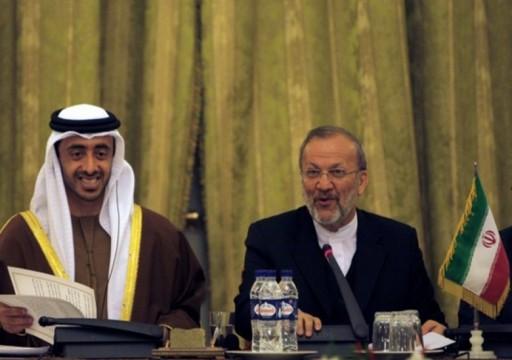 دبلوماسي إيراني: أبوظبي وقعت مع طهران اتفاق سري وتطالب بعلاقات متينة