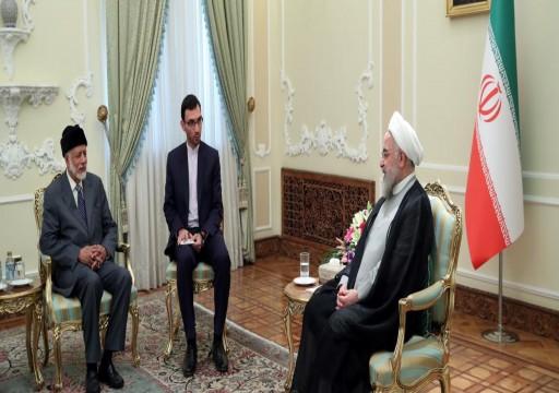 روحاني: إيران وعُمان مسؤولتان رئيسيتان عن أمن هرمز