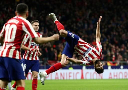 أتليتيكو مدريد يفوز على ليفانتي ويتقدم للمركز الثالث