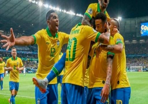 البرازيل تضرب كوريا الجنوبية بثلاثية وديا