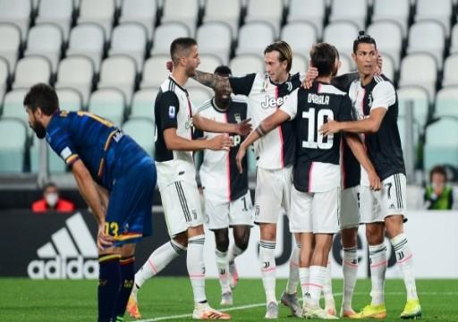 يوفنتوس يُعزز صدارته برباعية في مرمى ليتشي في الدوري الإيطالي