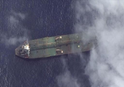 بلومبيرغ: فرنسا تعترض ناقلة بعقد إمارتي في طريقها لتحميل نفط من ليبيا