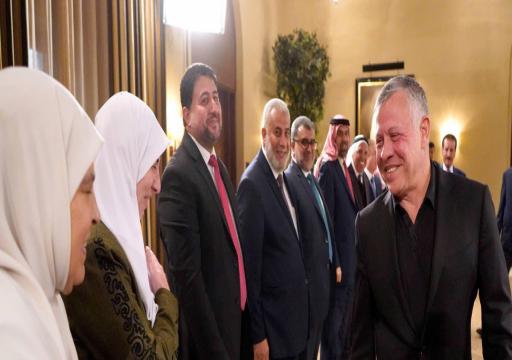 """صفعة لجهود أبوظبي.. لقاء """"تاريخي"""" يجمع ملك الأردن بقيادات الإخوان"""