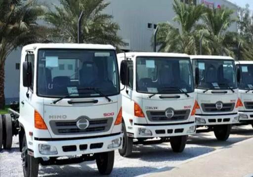 الفطيم هينو تستحوذ على 47% من سوق المركبات التجارية اليابانية في الدولة