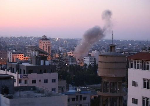 مقاتلات الاحتلال الإسرائيلية تشن غارات على مواقع المقاومة في غزة