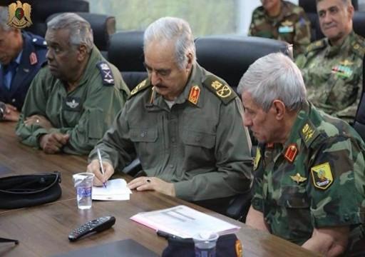 المدعي العسكري في ليبيا يأمر بالقبض على حفتر وثلاثة آخرين