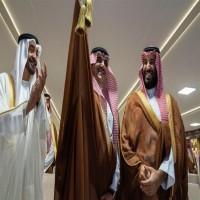 محمد بن زايد وابن سلمان يحضران سباق الهجن بالسعودية