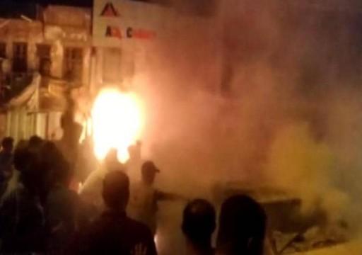 مقتل 4 بانفجار سيارة مفخخة استهدفت المتظاهرين في بغداد