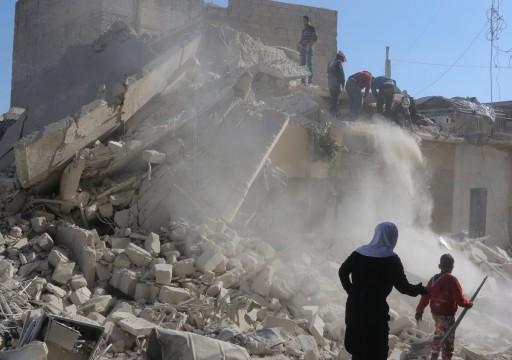 """""""العفو الدولية"""" تتهم دمشق وموسكو بارتكاب """"جرائم حرب"""" في إدلب"""