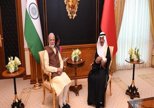 رئيس وزراء الهند يصل المنامة قادما من أبوظبي