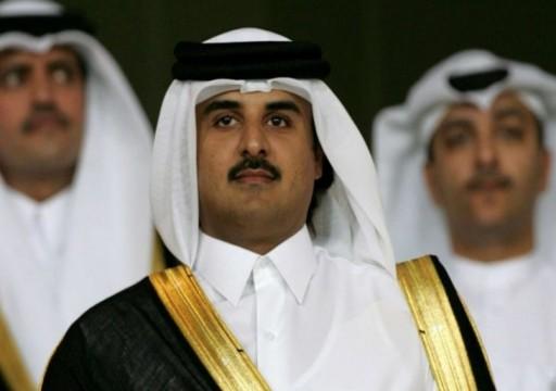 أمير قطر يهنئ البرهان بتشكيل المجلس السيادي بالسودان