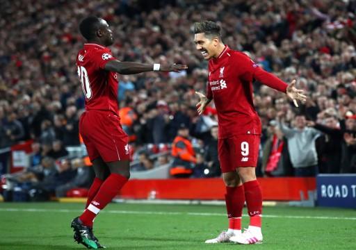 ليفربول يضع قدمًا في نصف نهائي أبطال أوروبا
