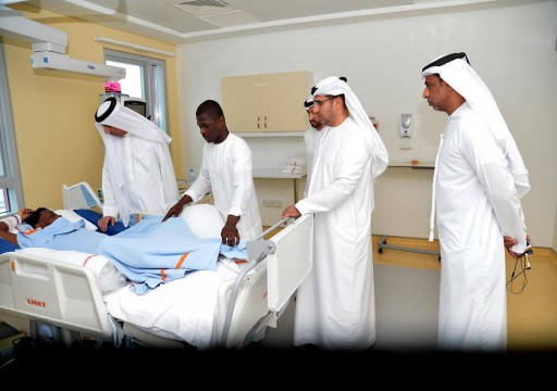 فريق يتفقد معايير السلامة بملعب اتحاد الكرة بعد حادثة أحمد ربيع