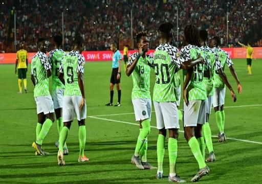 نيجيريا تتغلب على جنوب إفريقيا وتتأهل لنصف نهائي أمم أفريقيا