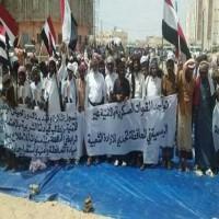 """تهديد المحتجين على الوجود الإماراتي في المهرة اليمنية بـ""""الاباتشي"""""""
