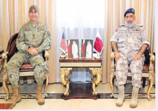 رئيس أركان قطر يلتقي مسؤولين عسكريين من واشنطن والناتو