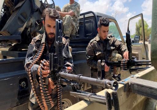 الجيش الليبي يتوجه للجبهة مع اقتراب معركة سرت